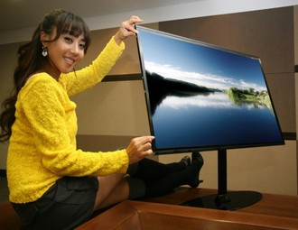 The Ultra Thinnest LED TV