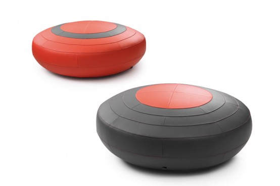 Cute Modern Footstools By Leolux