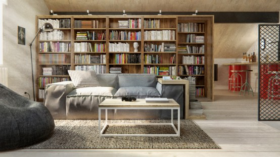 Scandinavian Apartment With Eco Friendly And Industrial Elements