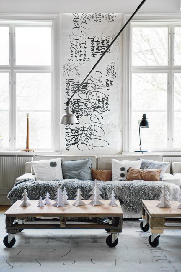 Scandinavian chic house with rustic and vintage features - Decoracion vintage chic ...