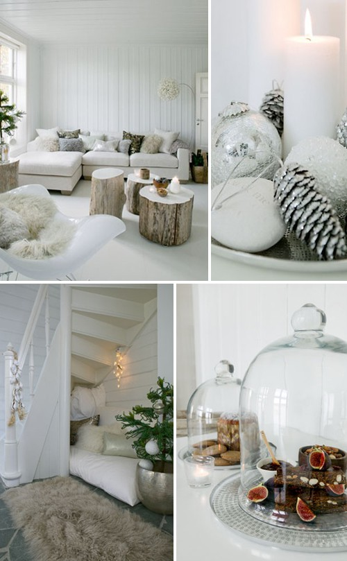 scandinavian chrsitmas inspiring ideas - Nordic Style Christmas Decorations