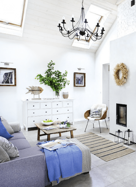 Scandinavian Cottage Decor With Rustic Touches