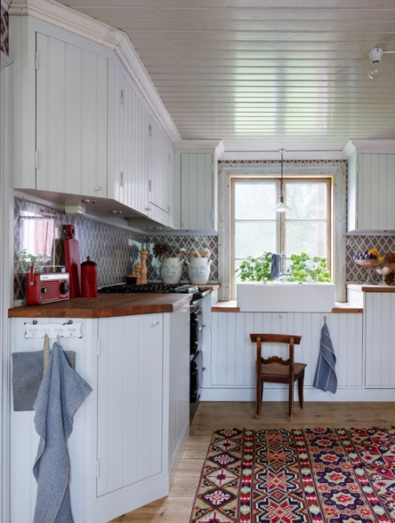 Scandinavian House In Rustic And Indutrial Style