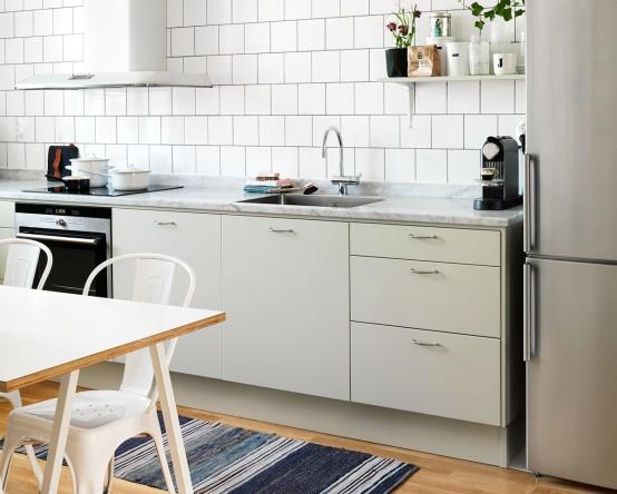 Scandinavian Kitchen Design scandinavian kitchen design with retro touches - digsdigs
