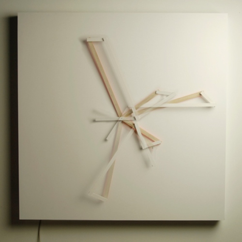 Science And Sons Oblique Clock