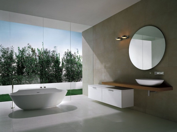 Modern minimalist bathrooms by michael schmidt digsdigs