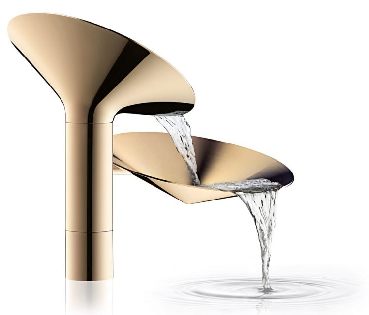 Sculptural And Eye-Catching Waterdream Faucet Collection