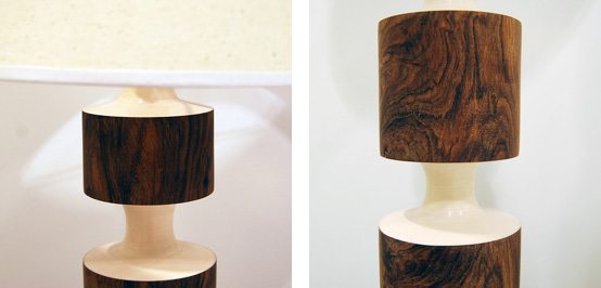 Sculptural And Snazzy Table Lamp