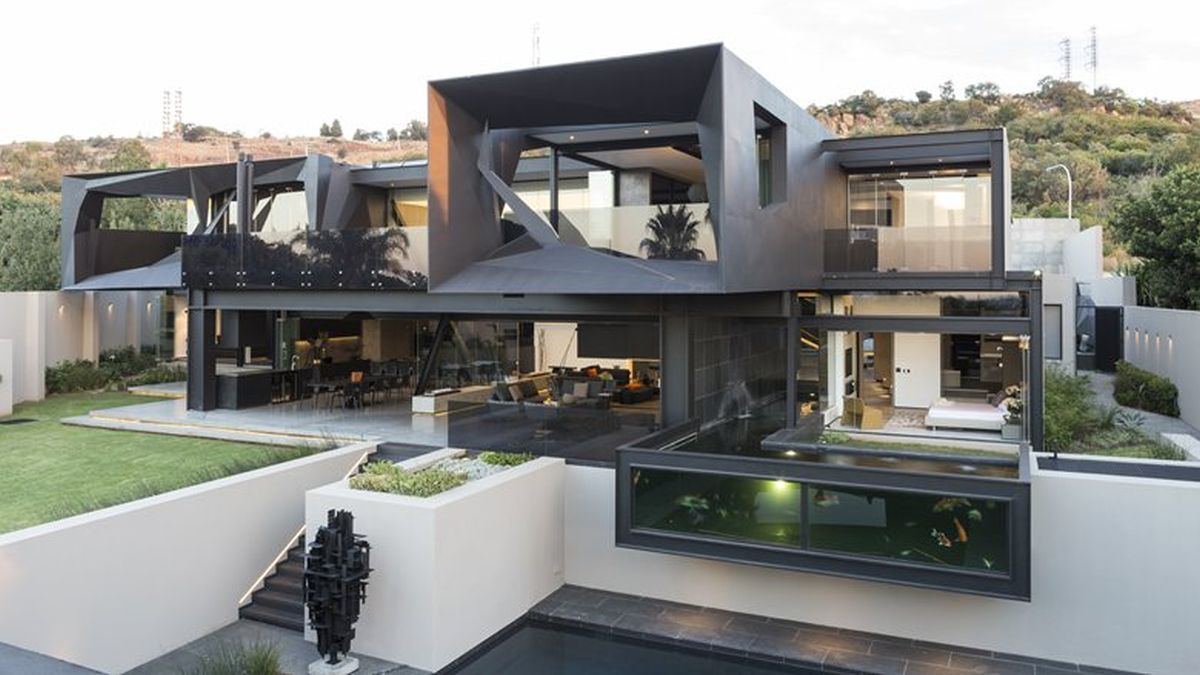Picture Of sculptural family home with minimalist interiors  1