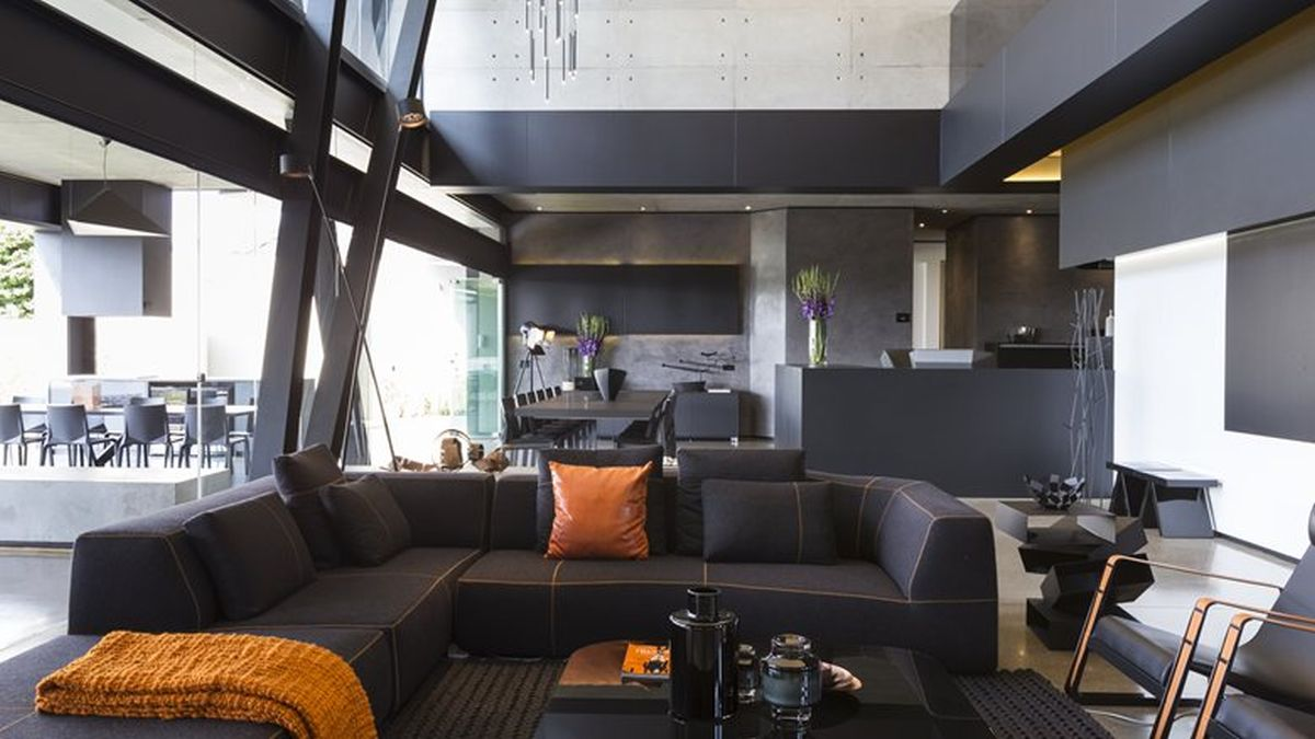 Picture Of sculptural family home with minimalist interiors  10