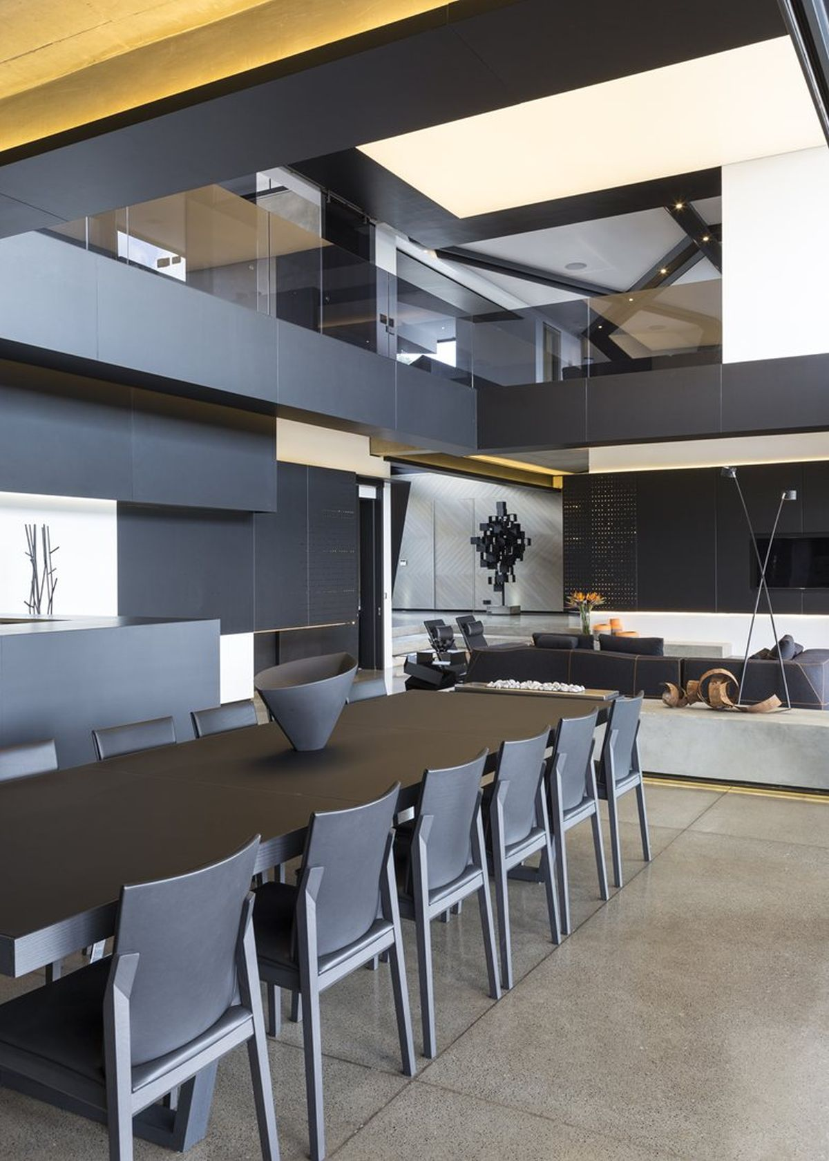 Picture Of sculptural family home with minimalist interiors  16