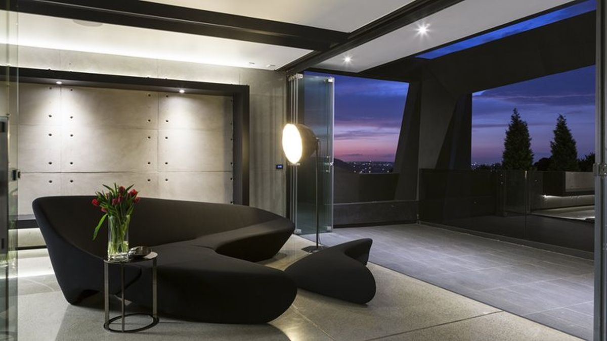 Picture Of sculptural family home with minimalist interiors  25
