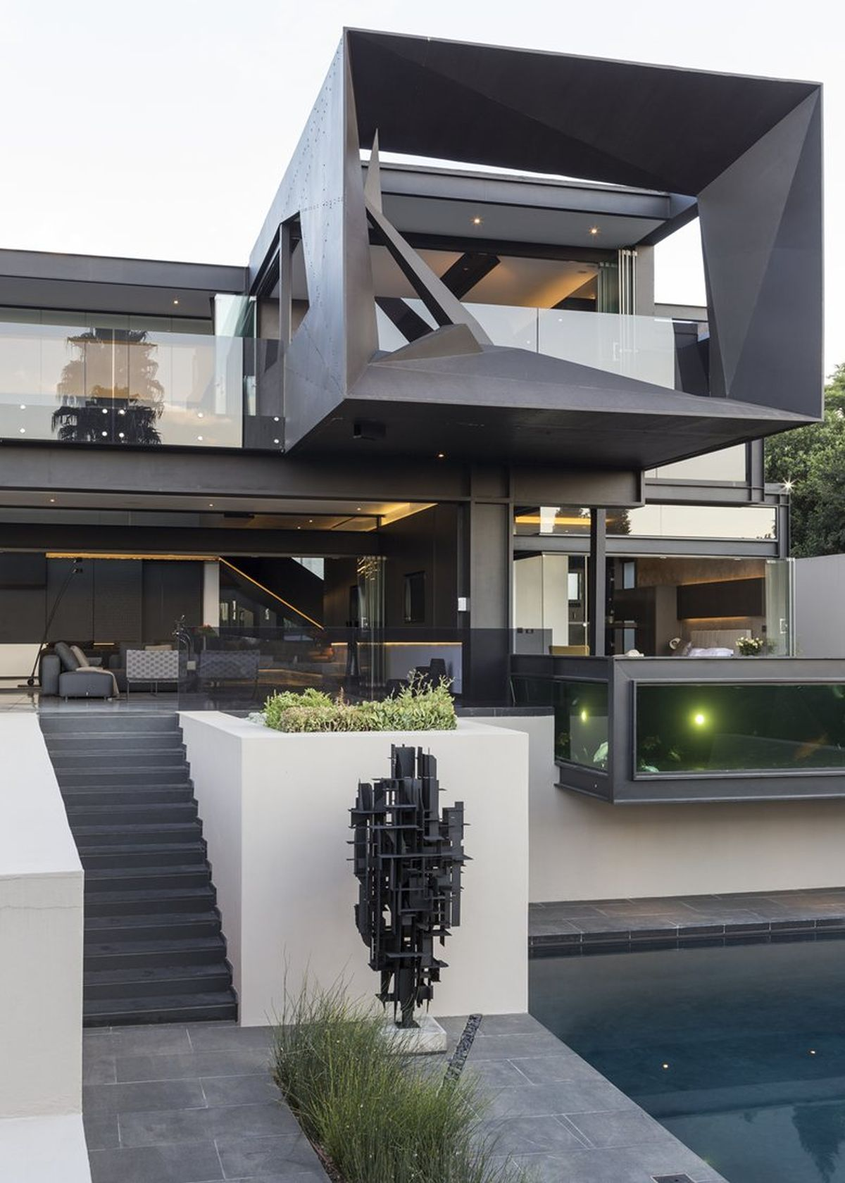 Picture Of sculptural family home with minimalist interiors  3