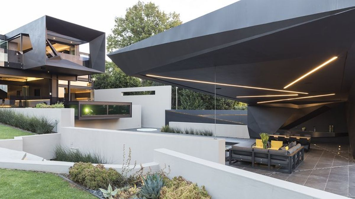 Picture Of sculptural family home with minimalist interiors  4