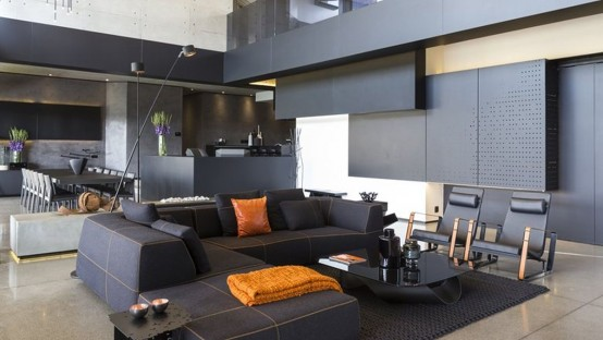 Sculptural Family Home With Minimalist Interiors