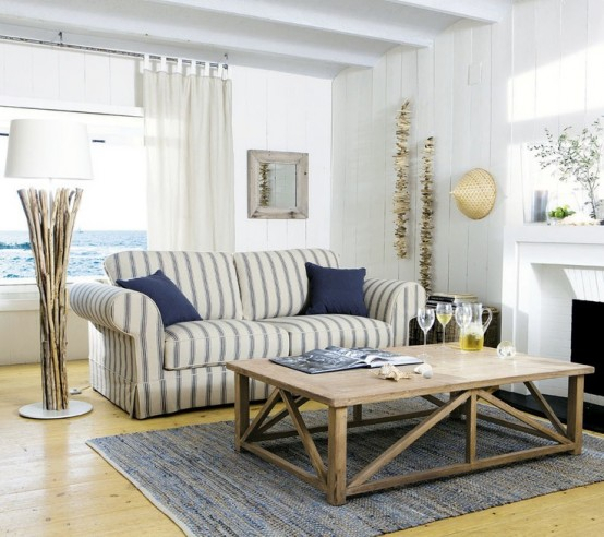 Charmant Sea And Beach Inspired Living Rooms