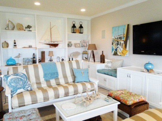 beach living room design. Sea And Beach Inspired Living Rooms 37 and  DigsDigs