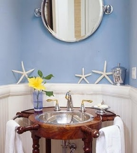Sea inspired bathroom decor ideas digsdigs for Sea bathroom ideas