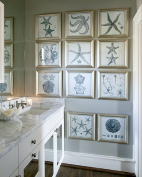 Ocean Decor For Bathroom: 69 Sea-Inspired Bathroom Décor Ideas