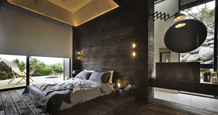 Picture Of seaside taiwaneese home with loal organic elements  10
