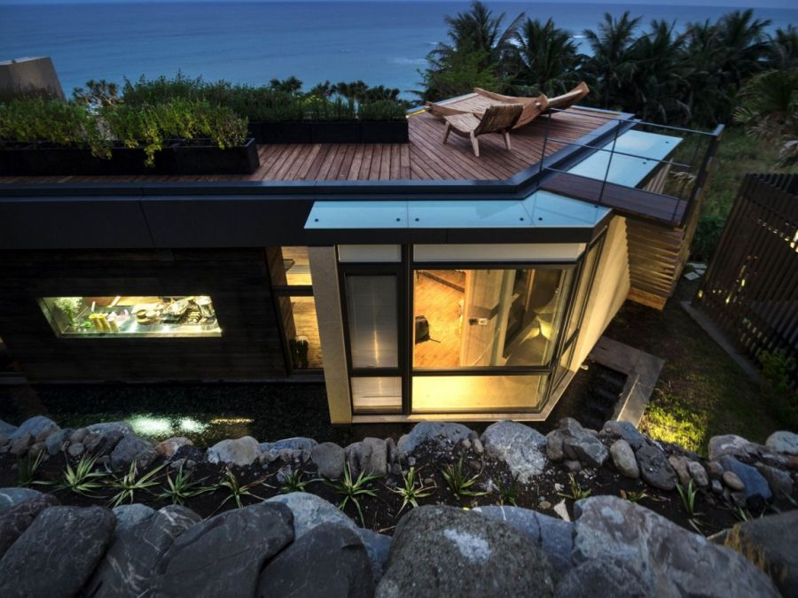Picture Of seaside taiwaneese home with loal organic elements  13