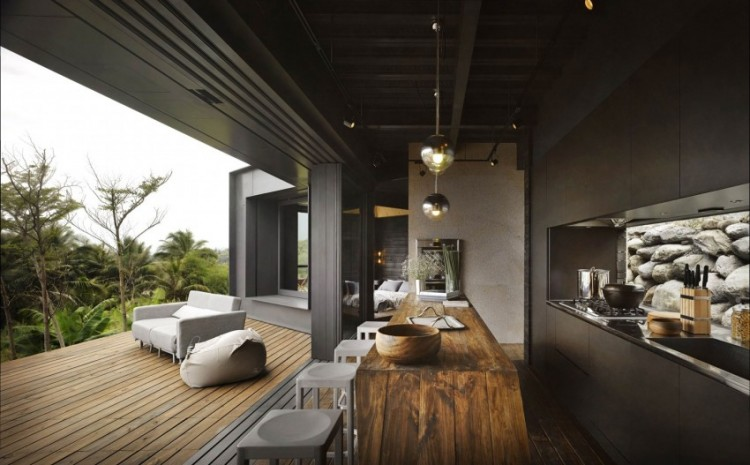 Seaside Taiwanese Home With Local Organic Elements