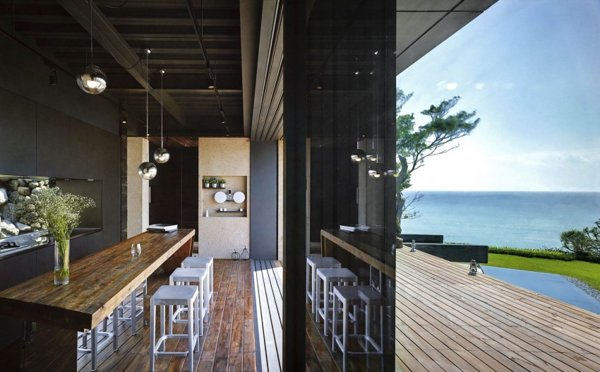 Picture Of seaside taiwaneese home with loal organic elements  7