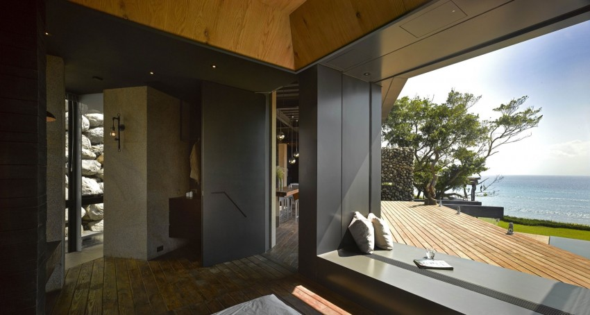 Picture Of seaside taiwaneese home with loal organic elements  8