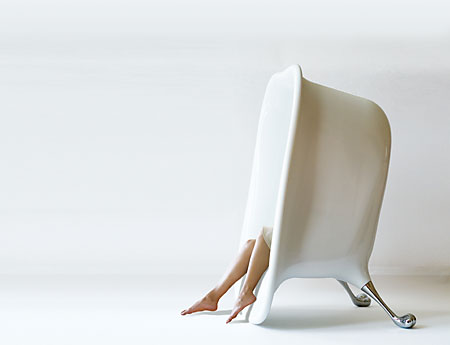 Seatub - bath tub shaped lounge chair