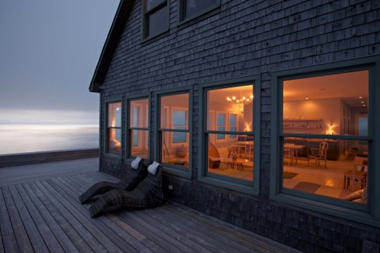 Secluded Cottage On An Island In Scandinavian Style