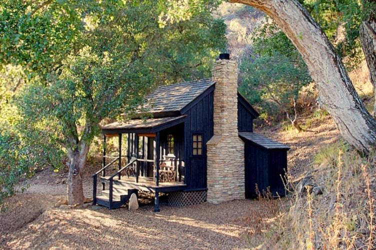 A secluded house in california digsdigs - Pergolas el bosque ...