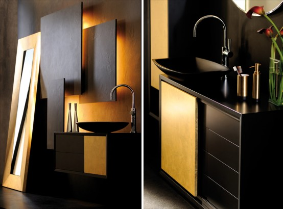 Sensual Luxury Bathroom Furniture by Pom d'Or