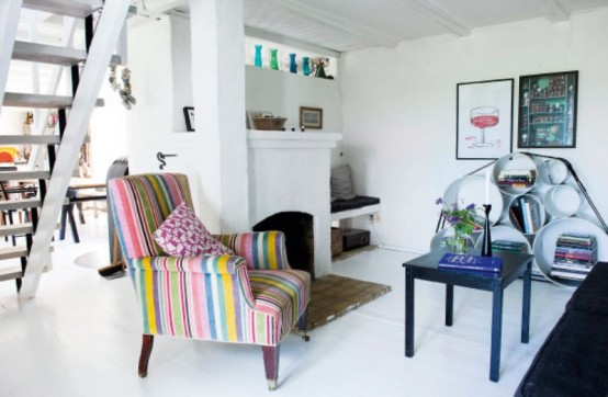 Shabby Chic And Vintage House Of An Old Farm