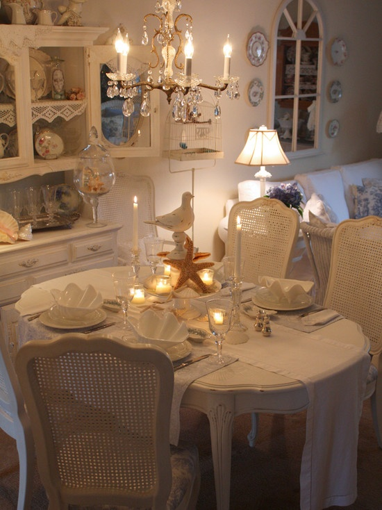 Shabby Chic Dining Rooms Part 61