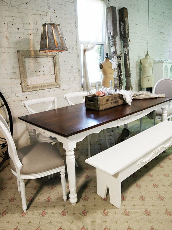 Marvelous Shabby Chic Dining Room Ideas Part - 4: Shabby Chic Dining Rooms