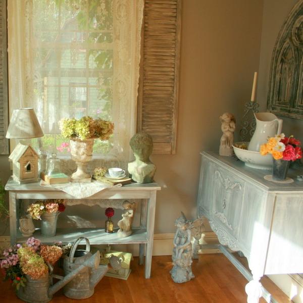 Shabby Chic Garden Room Design