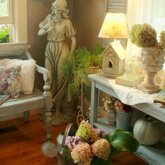 Shabby Chic Garden Room Design