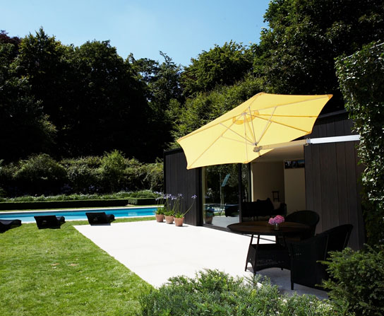 Paraflex Wall Mounted Patio Umbrella