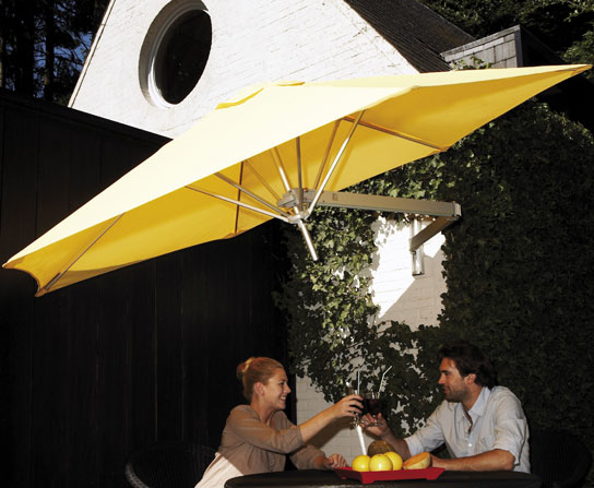 Shadescape Wall Mounted Pation Umbrella