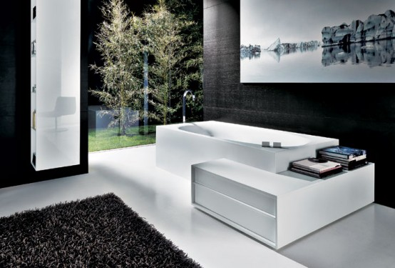 Shape minimalist bathroom