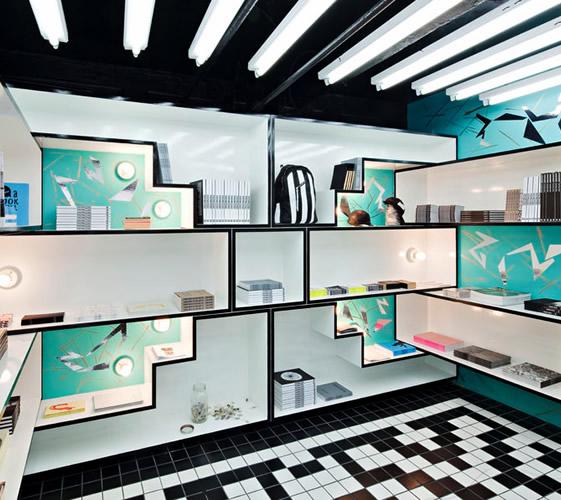 Custom Made Shelving System for Modern Interiors