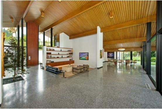 Sherwood Residence Mid Century Style Mixed With Modern Luxury