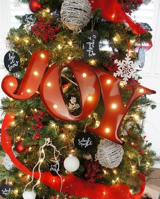 32 Shining Marquee Signs Ideas For Christmas Décor