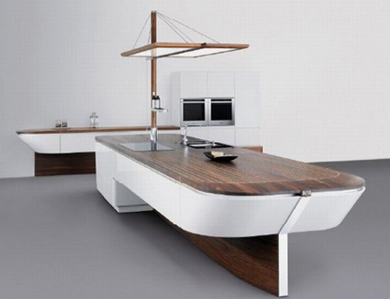 Ship-Inspired Minimalist Kitchen Design by Alno