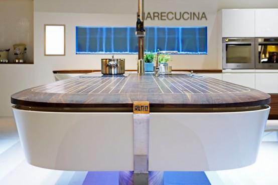 Ship Inspired Minimalist Kitchen