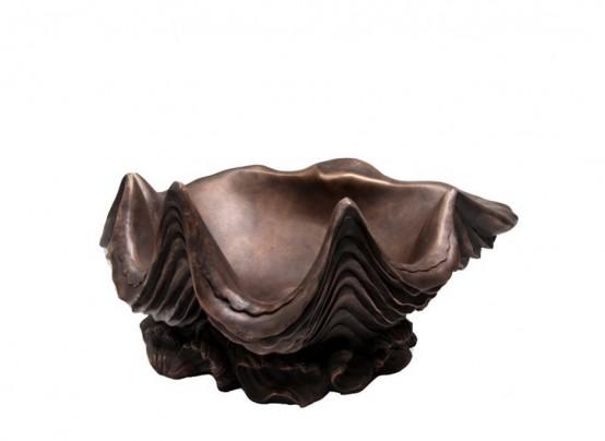 Showpiece Santa Fe Bronze Sinks With An Aged Look