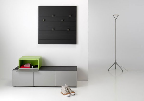 Flexible Yet Monolithic Sideboard System – Nuf by Performa