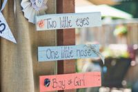 signs for a gender neutral baby shower