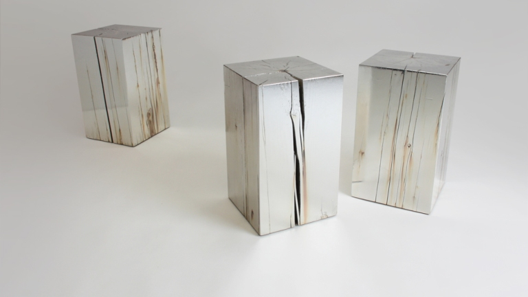 Silver Tables Of Fir With All Imperfections