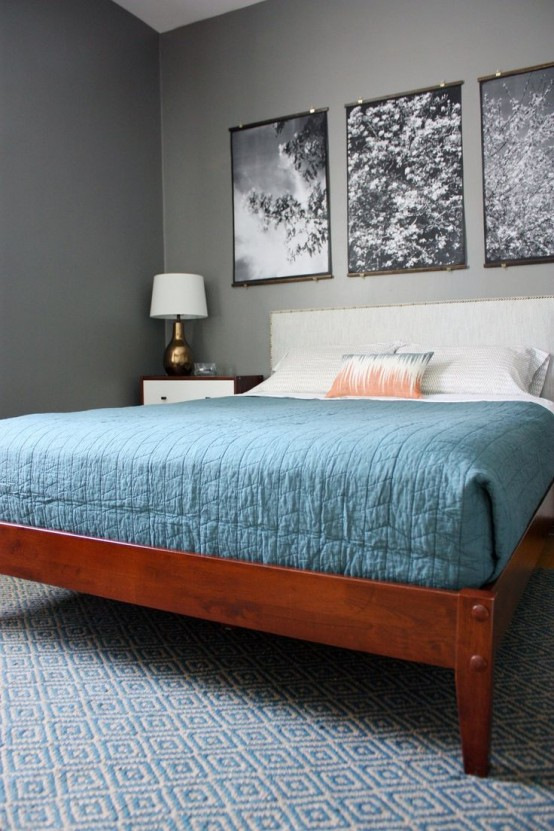 Simple And Elegant Mid Century Modern Beds